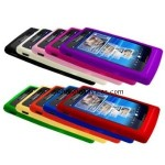 Ten Silicone Case Covers for Sony Ericsson Xperia X10