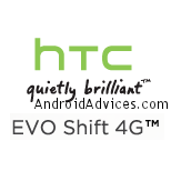 evo shift 4G Logo