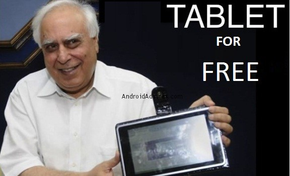 Aakash Tablet free