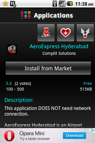 Android India application