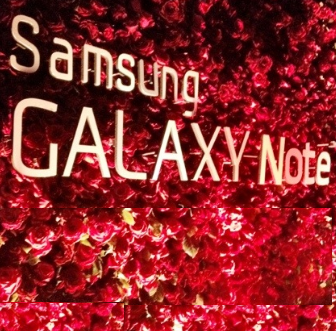 Galaxy NOTE RED Logo