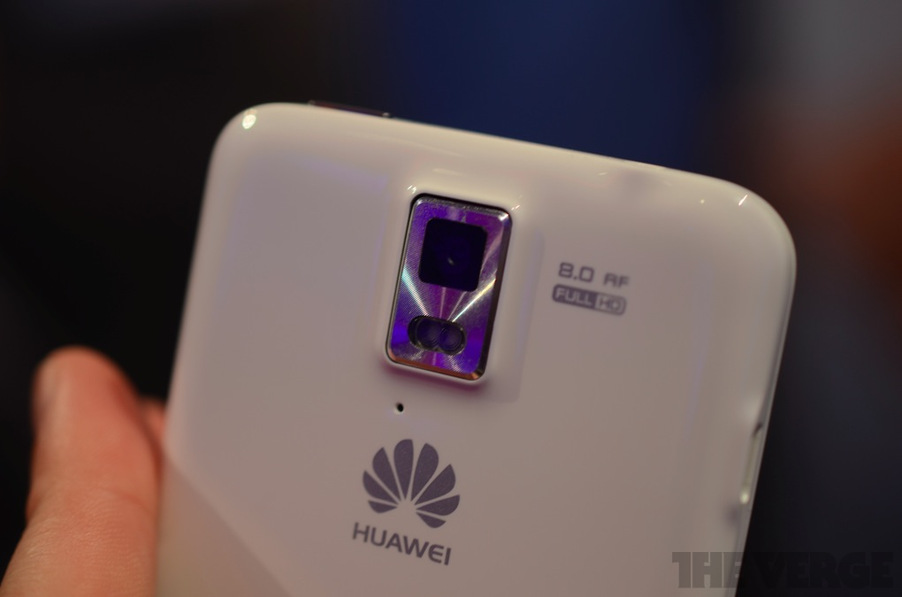 Huawei Ascend D Hands-on Back