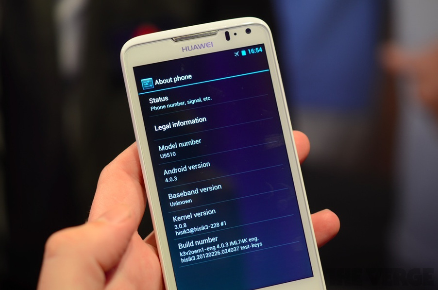 Huawei Ascend D Hands-on