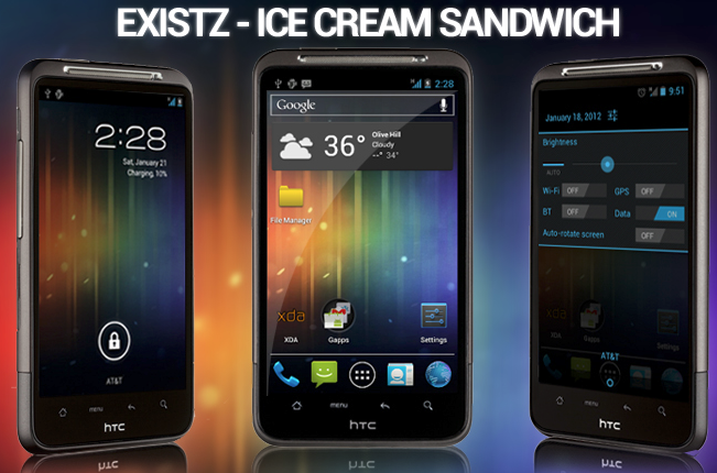 ICS FOR HTC
