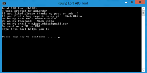 Lord AIO Tools