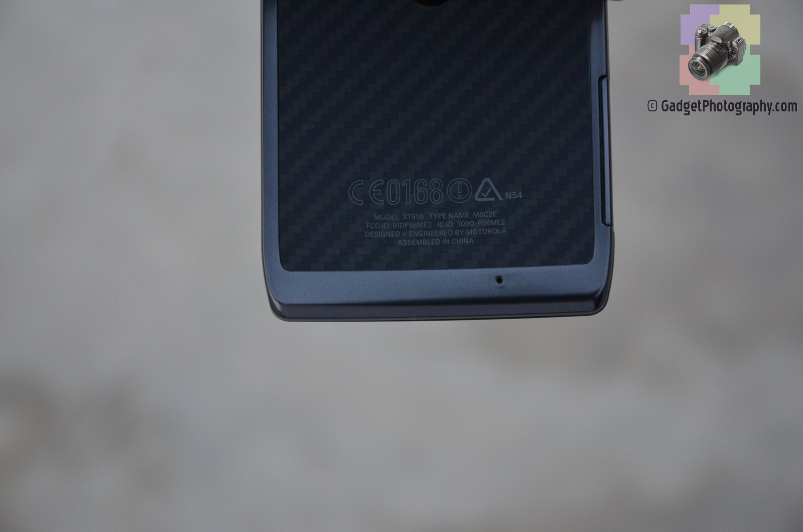 Motorola Droid Razr Back Bottom