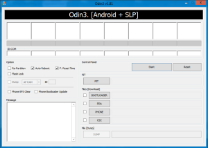 Odin for Galaxy SL I9003