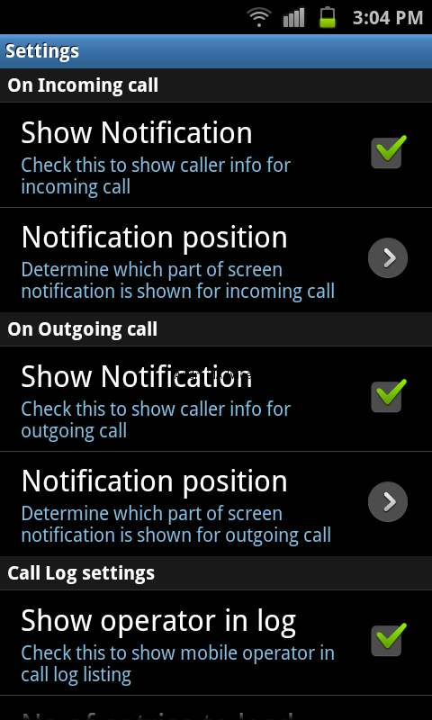 ShaPlus Mobile App Setting