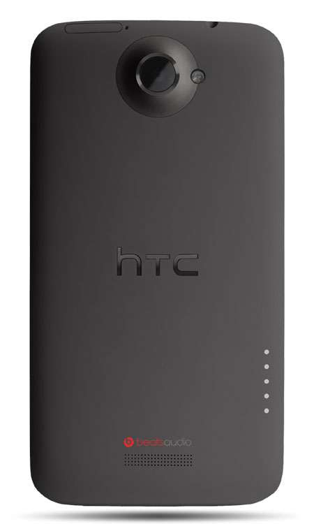 htc one x grey back