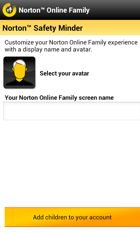 norton safety minder avatar