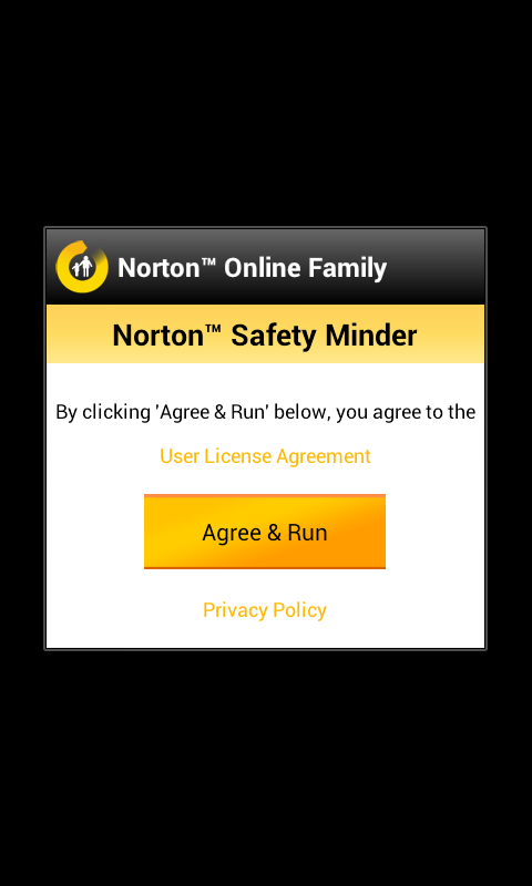 norton safety minder welcome