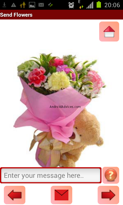 wish your valentine eflower