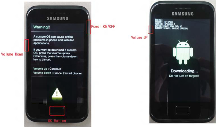Download Mode Galaxy ACE PLUS
