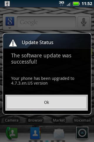 Droid Pro Updated Successfully