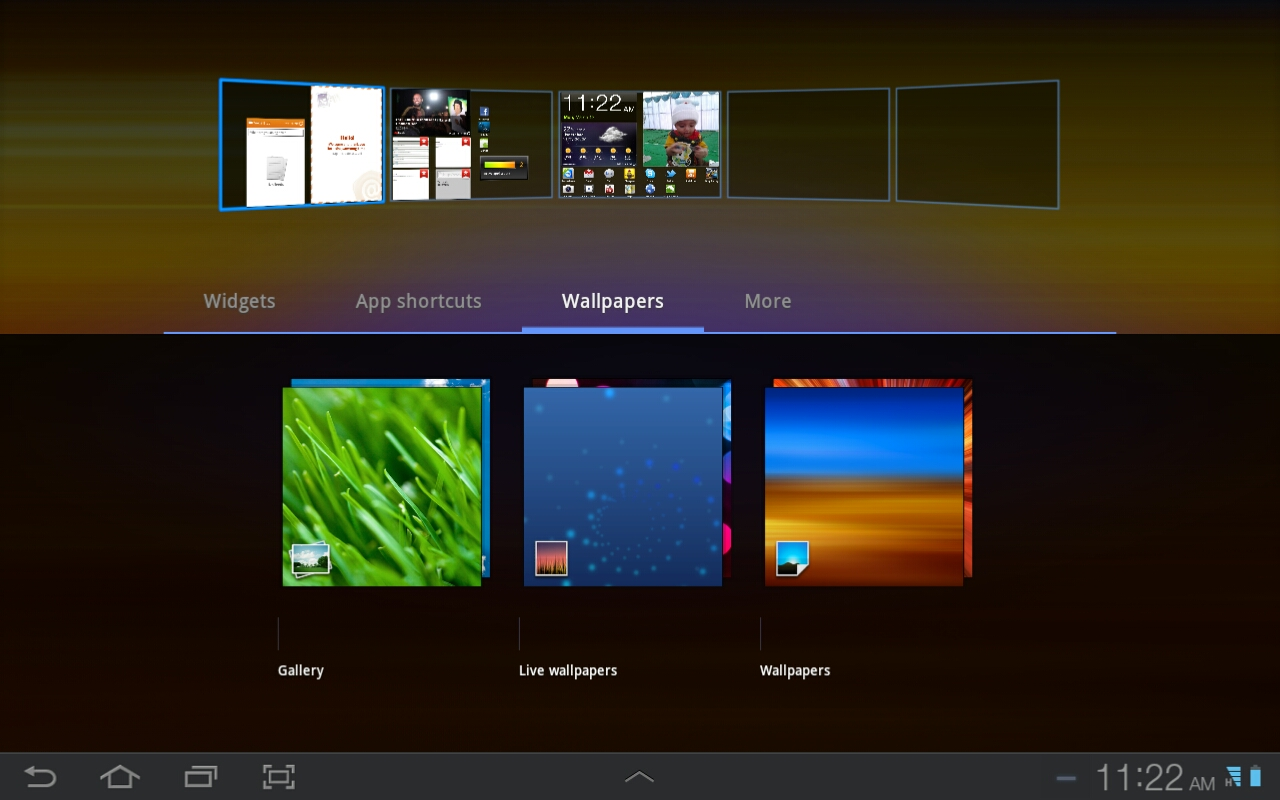 how to change wallpapers on galaxy tab tablet - android advices