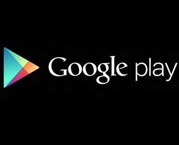 Google PLAY Black Logo