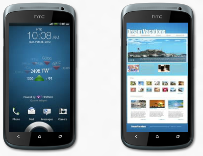 HTC One S Banner