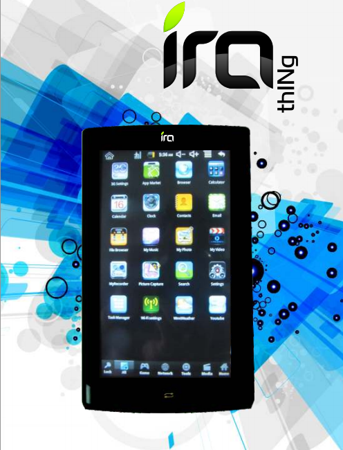 Ira Thing Android tablet