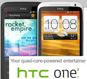 htc one x logo
