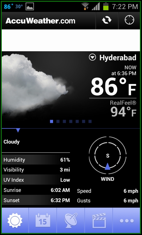 New AccuWeather for Android App Now Available ...