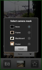 Camera Illusion App Mask