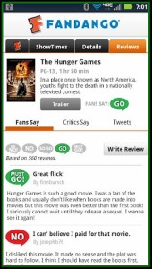 Fandango Reviews