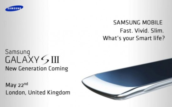 Galaxy S III Launch