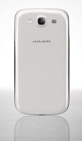 Galaxy S III white back