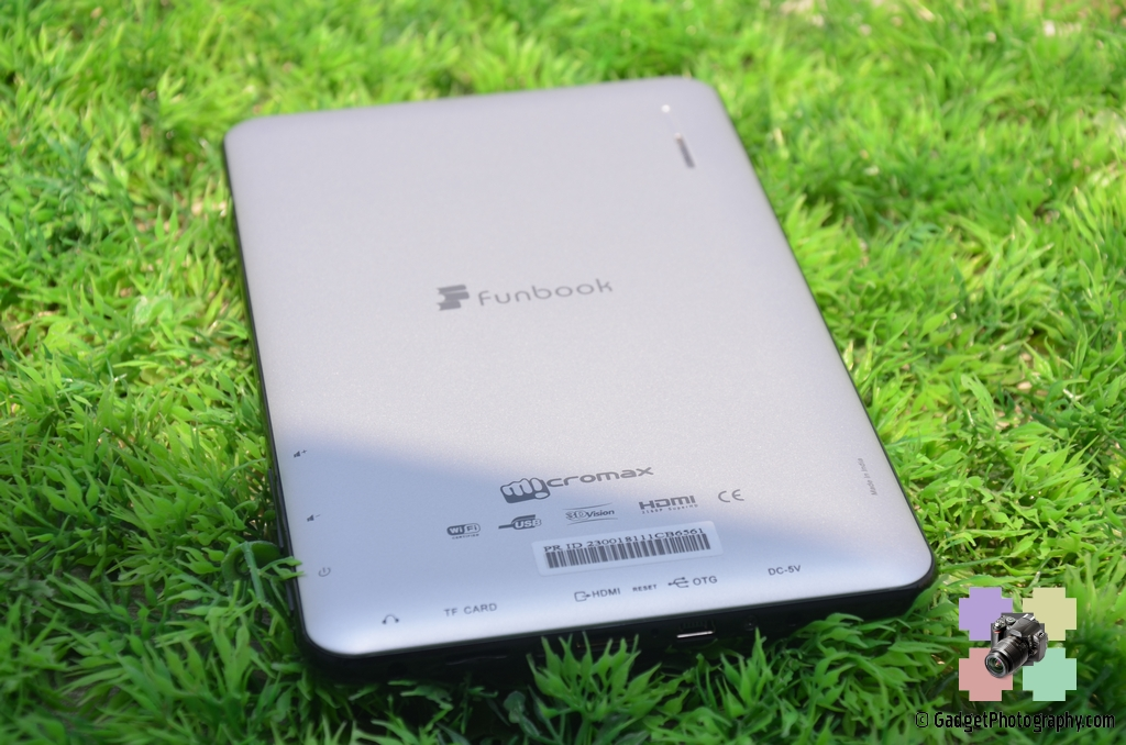 Micromax Funbook Back