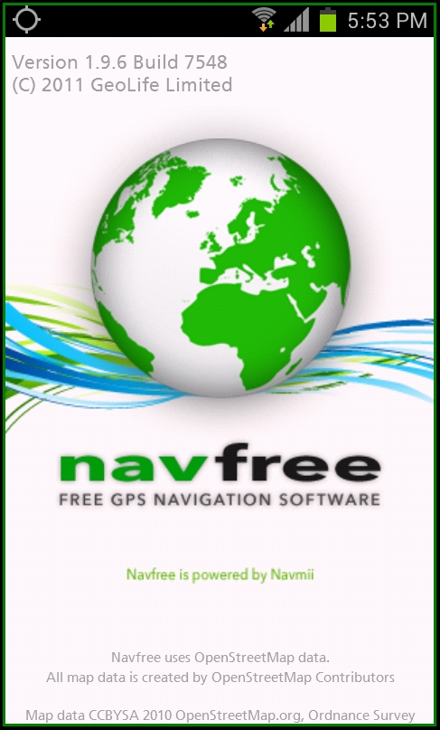 Best offline navigation maps apps for android devices android navfree app navfree navfree app gumiabroncs Choice Image