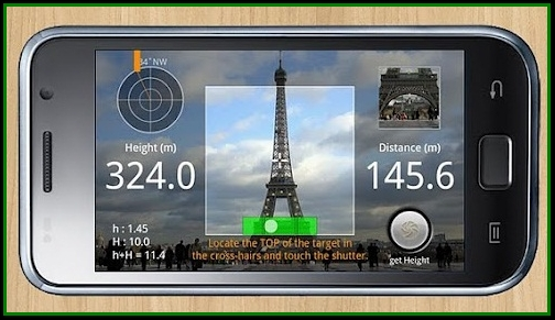 Distance measurement app