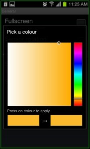 Zeam Launcher App General Color