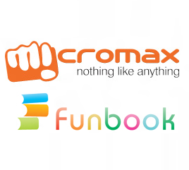 micromax funbook Logo