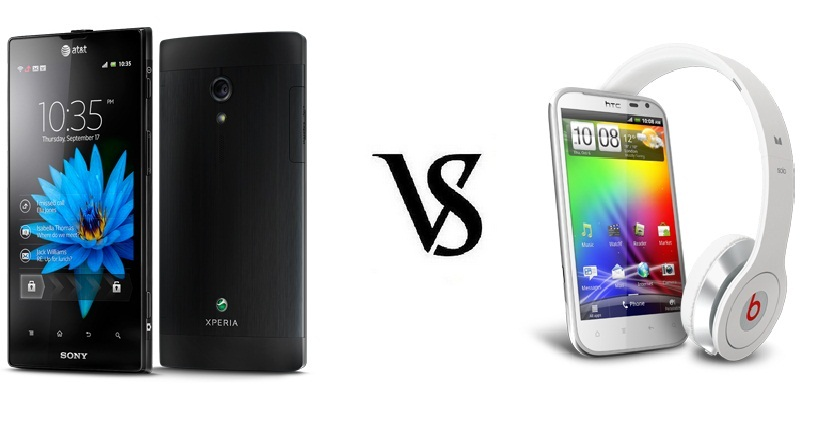 Sony Xperia Ion vs HTC Sensation XL