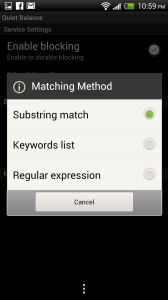Balance Update USSD Blocker App Matching Method