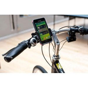 Bicycle handle mount for Galaxy S III