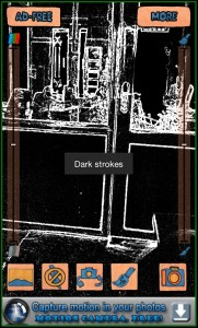 Cartoon Camera Dark Strokes