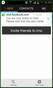 IMO Messenger Facebook Chat