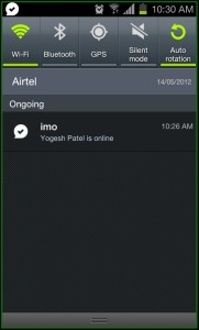 IMO Messenger Google talk