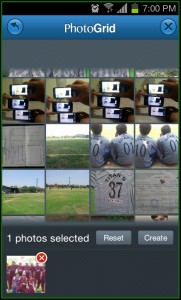 Photo Grid Selection