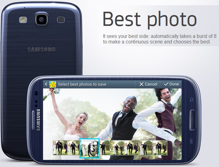 Samsung Galaxy S III Best Photo