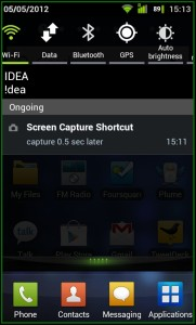 Screen Capture Notification