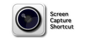 Screen capture logo