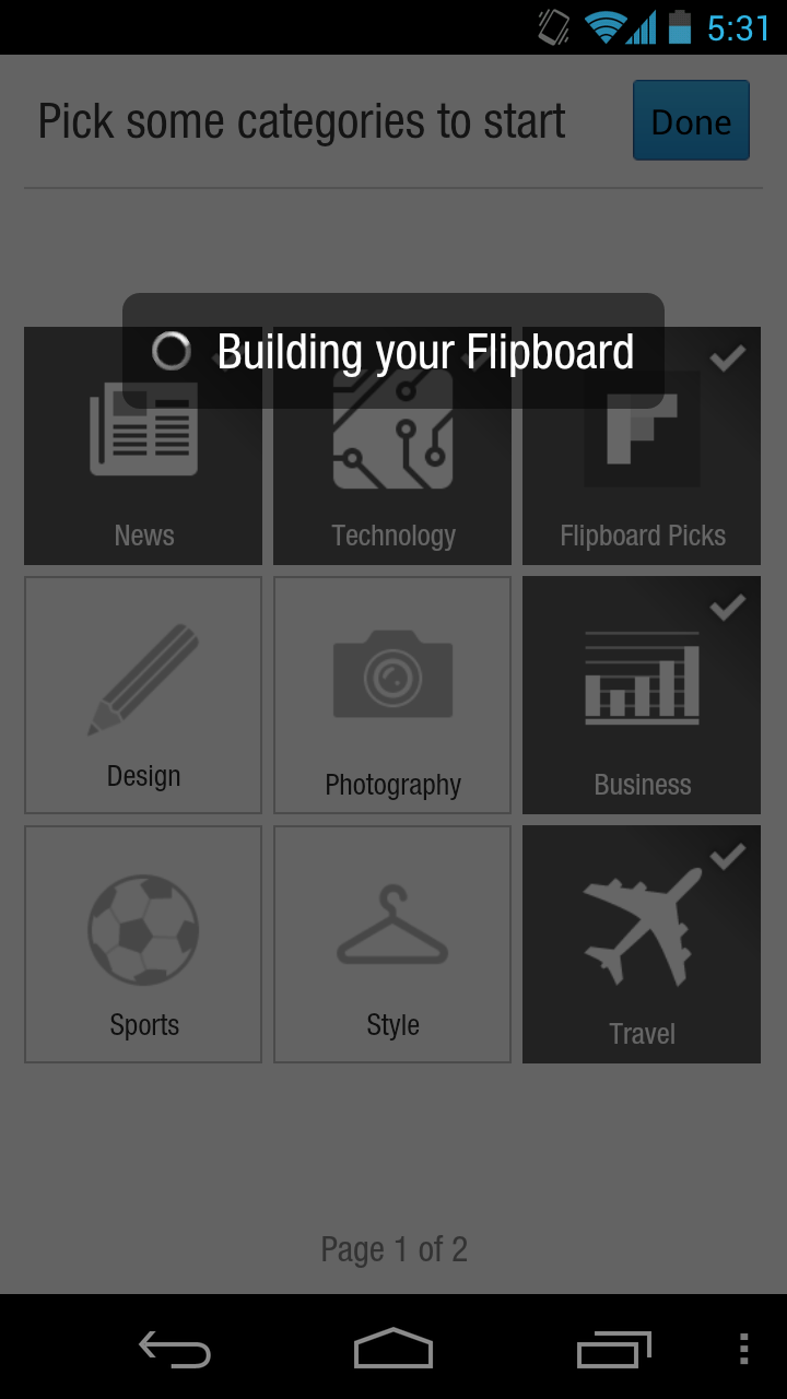 flipboard app for android