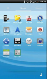 TOuchwiz Go Theme