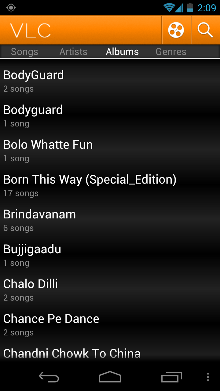 with download play video player android