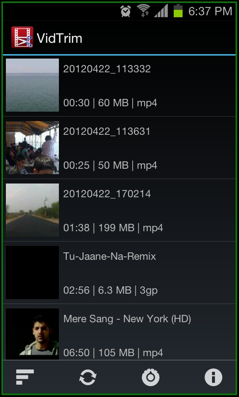 Trim Videos On Your Android Devices Save As New Clip With Vidtrim