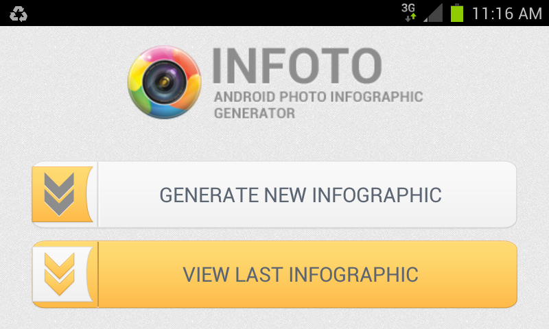 Android infographic generator app creates high res graphics from the app is smart enough to read geo tags from photos and find out where the photos were taken and display it in a graphical way on the world map with a gumiabroncs Image collections