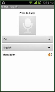 Animal Translator