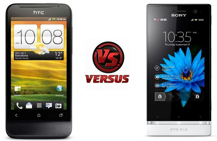 HTC One V vs Xperia U